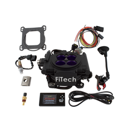 FiTech Mean Street - 800 HP EFI System - Matte Black Finish - 30008