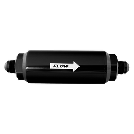 FiTech 100 Micron Inline Fuel Filter #8 Fittings - 80111