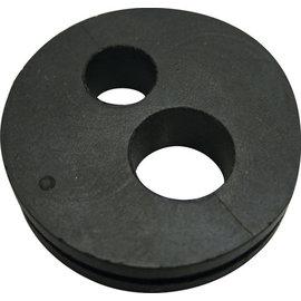 "Vintage Air Firewall Grommet - Double Hole for #6 & #8 Hardlines - 1.562"" OD - 33134-VUI"
