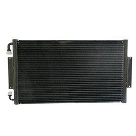 "Vintage Air 14"" x 25.5"" Horizontal SuperFlow Condenser - Black - 037710"