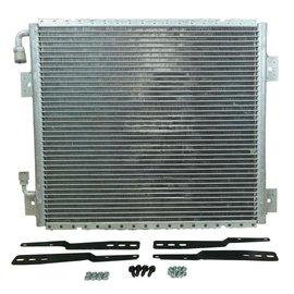 "Vintage Air 17"" x 19"" Vertical Superflow Condenser - Unpainted - 031001-VUA"