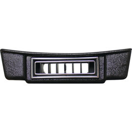 Vintage Air 28-32 Ford Under Dash Center Louver Panel - Black w/ Chrome Accents - 49132-VFL