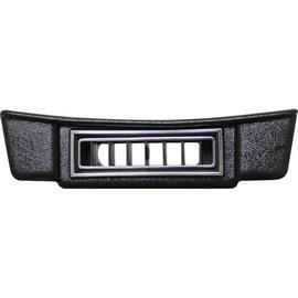 Vintage Air 37 Ford/30-35 Chevy Under Dash Center Louver Panel - Black w/ Chrome Accents - 49137-VFL