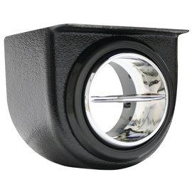 "Vintage Air Under Dash Louver Pod For  2.5"" Hose - Black and Chrome - 49054-VUL"