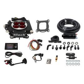 FiTech Go EFI 4 System (Power Adder) Master Kit w/Inline Fuel Pump - 31004