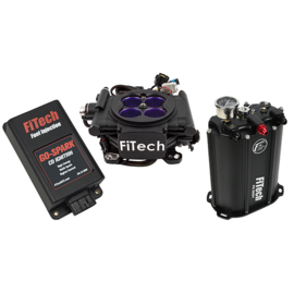 FiTech Mean Street EFI System Master Kit w/ Force Fuel, Fuel Delivery System, w/CDI box - 93508