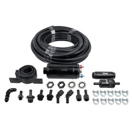 FiTech 255 LPH Inline Fuel Pump Kit - 50001