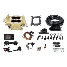 FiTech Easy Street EFI System Gold w/ Inline Fuel Pump - 31005