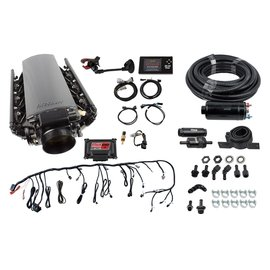 FiTech Ultimate LS Master Kit w/70002 Kit Plus Inline Fuel Pump Kit - 71002
