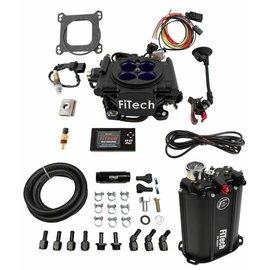 FiTech Mean Street EFI System Master Kit w/ Force Fuel, Fuel Delivery System - 35208