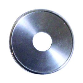 """Vintage Air Accent Bezel for Rotary Controls - Machined (7/16"""" Hole) - 484177"""