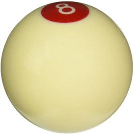 "Lokar 2 1/4"" RED & IVORY 8-BALL KNOB 3/8 - SK-6886"
