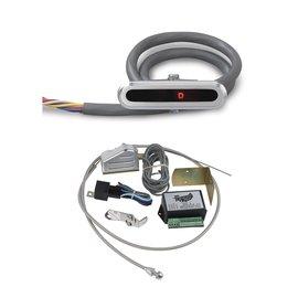 Lokar Billet Aluminum LED Dash Indicator with Sensor Kit