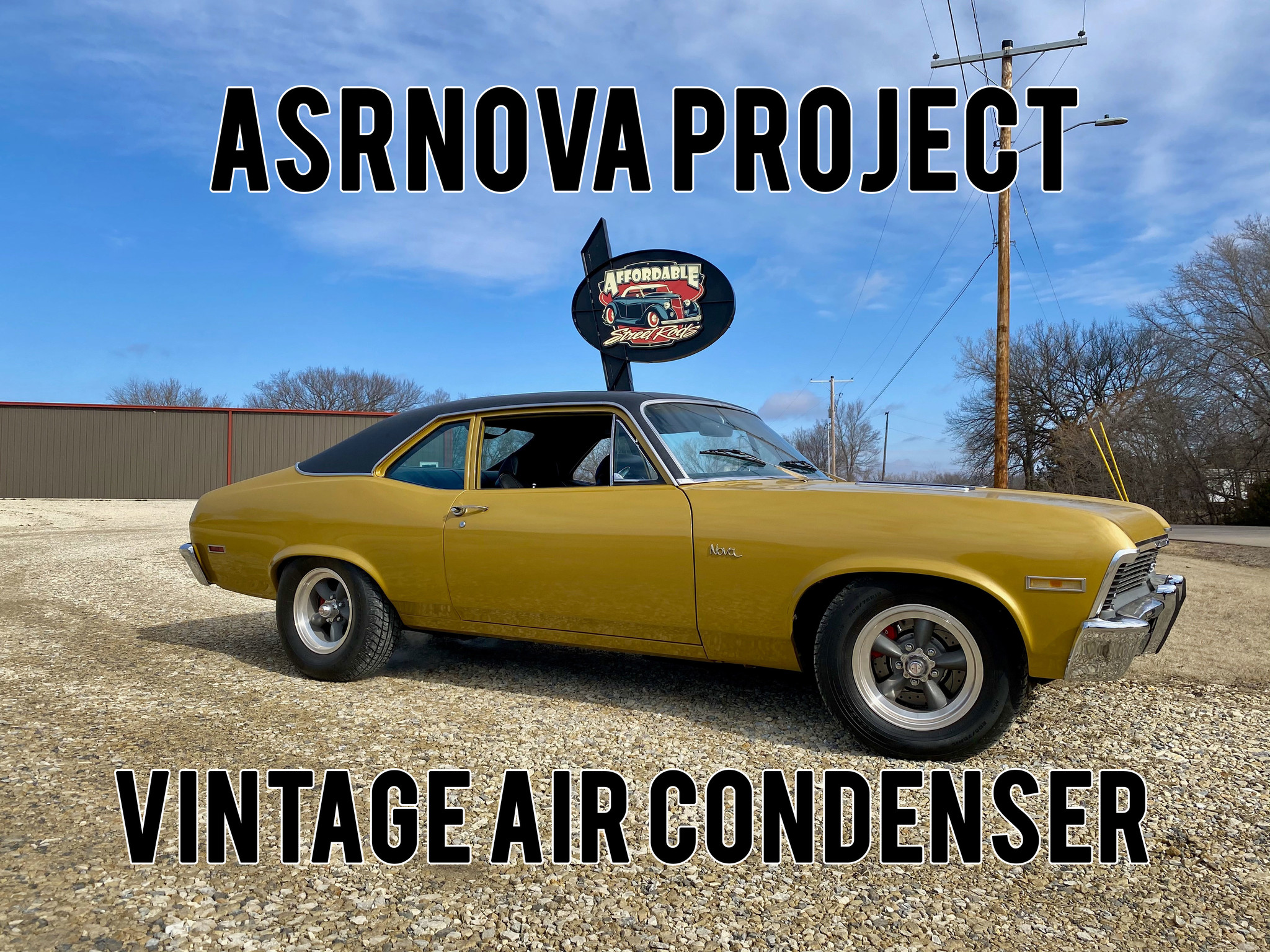 ASRNova Project Vintage Air Condenser Kit
