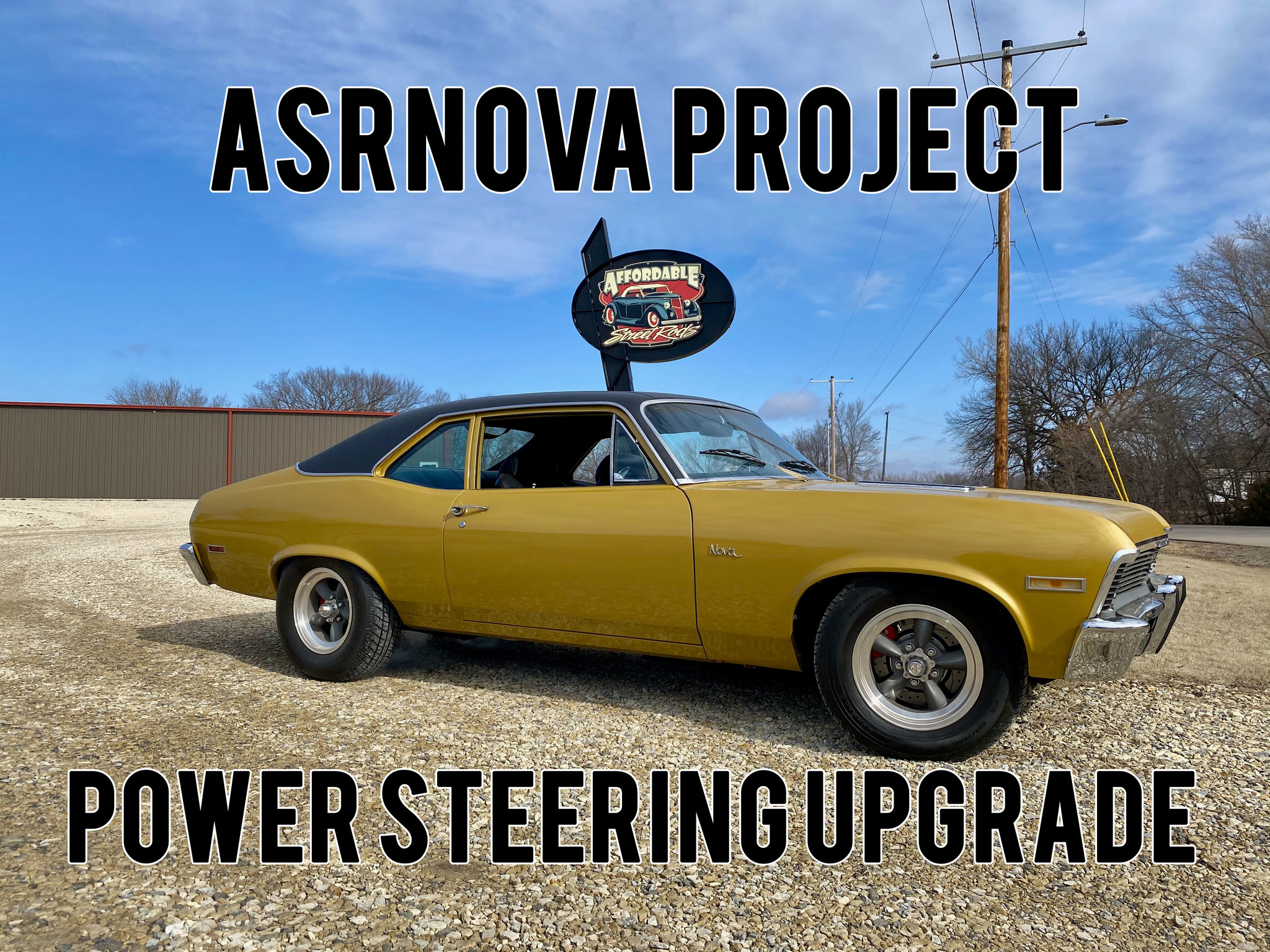 Upgrading the 1792 Chevrolet Nova with a Borgeson Power Steering Box