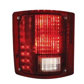 United Pacific 73-87 Chevy & GMC Truck LED Tail Light Assembly - Sequential