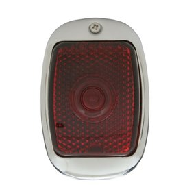 United Pacific 40-53 Chevy Truck Tail Light Assembly - Black - 12 Volt - Non-LED