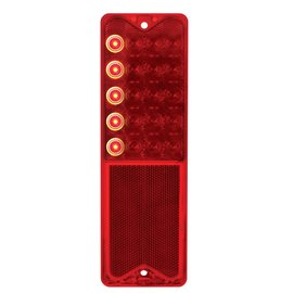 United Pacific 67-72 Chevy Truck LED Tail Light Lens - Sequential - #CTL6721SEQ