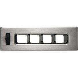 Vintage Air ProLine™ SlimLine Brushed Aluminum Rectangle Louver