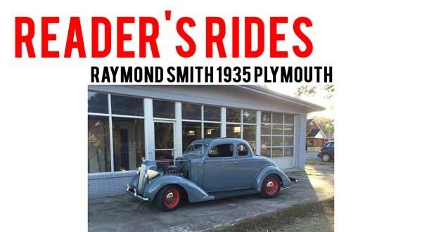 Raymond Smith's 1935 Plymouth