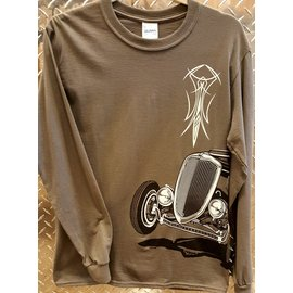 Roadster Pilot RP 25 - 34 on the Side - Long Sleeve - 4X