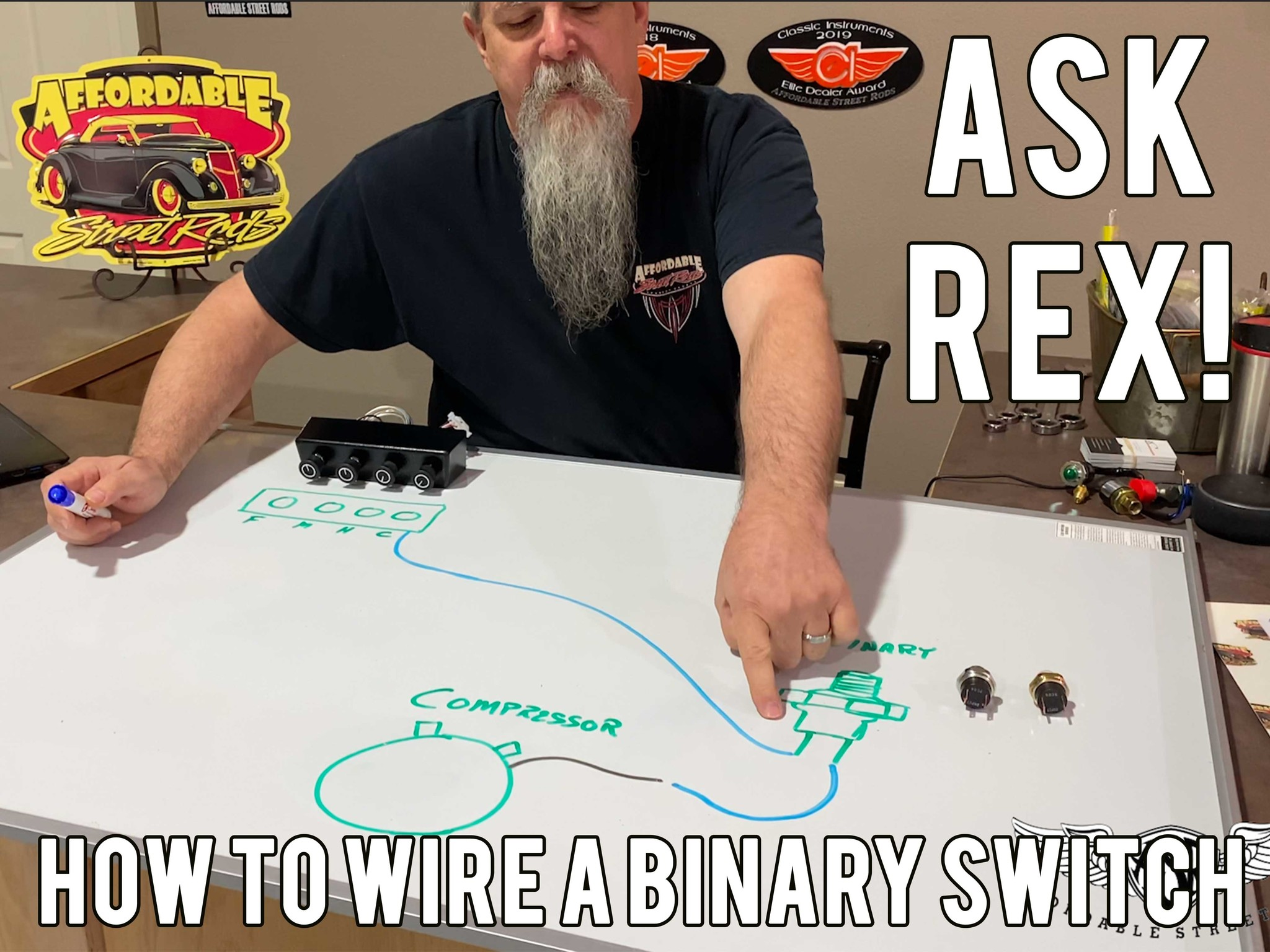 How To Wire A Binary Switch