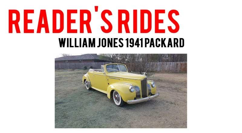 William Jones 1941 Packard