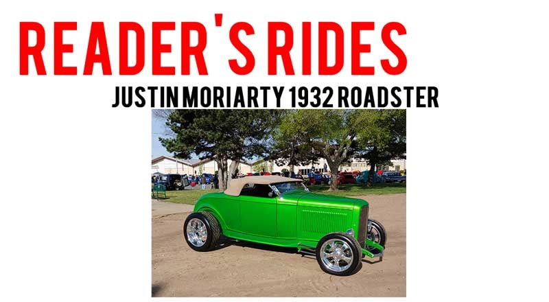 Justin Moriarty 1932 Ford Roadster