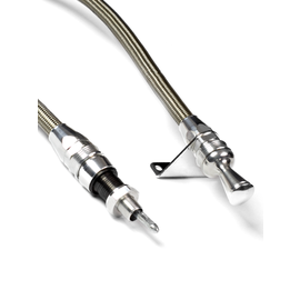 Lokar Anchor-Tight® Locking Flexible Engine Dipsticks For Chevy Big Block