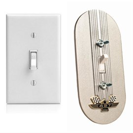 Kugel Komponents Toggle Light Switch Cover