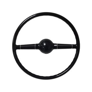 "40 Ford Steering Wheel with Standard Black Cap - 16"" - ST3002-BLK"