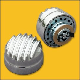 OTB Gear Breather - Twist On - Polished   - 6805