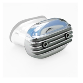 Mooneyes Breather Cap with Finned Top - MP1900F