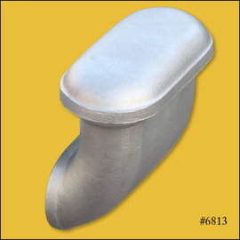 OTB Gear Smooth 90° Breather - Unpolished - 6813