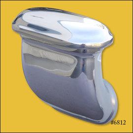 OTB Gear Breather - Smooth 90° - Polished - 6812