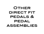 Other Direct Fit Throttle Pedals & Brake/Clutch Pedal Covers