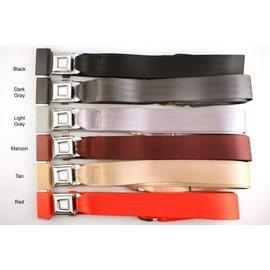 Seat Belts - Non-Retractable Lap Style - 2 Point
