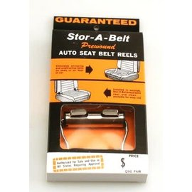 Affordable Street Rods Stor-A-Belt - Auto Seat Belt Reels
