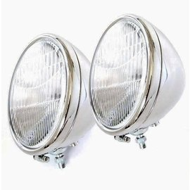 Vintique, Inc. 28-29 Ford Quartz Headlights with Turn Signals - A-13000-AQSTS