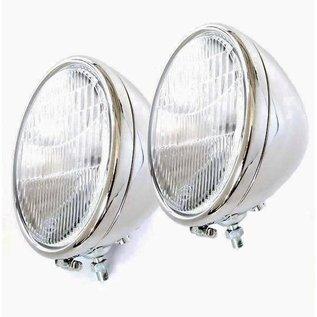 Vintique, Inc. 28-29 Ford Quartz Headlights with Turn Signals - A-13000-AQSTS