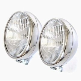 Vintique, Inc. 30-31 Ford Quartz Headlights with Turn Signals - A-13000-BQSTS