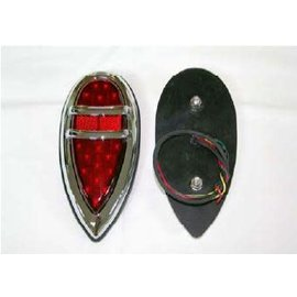 Technostalgia 38-39 Lincoln Zephyr Tail Lights (Pair) - Complete - 6059