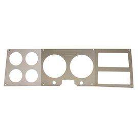 Dakota Digital 73-77 Chevy & GMC aluminum trim plate insert - CALD-73C-PU