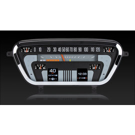 Dakota Digital Dakota Digital 53-55 Ford Pickup RTX Instruments - RTX-53F-PU-X