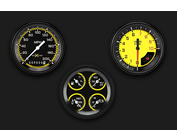 Auto Cross Series Yellow