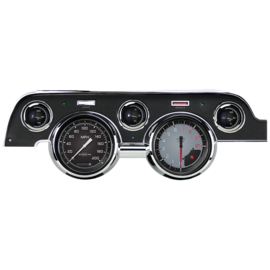 Classic Instruments Classic Instruments 67-68 Ford Mustang Instruments - AutoCross Gray