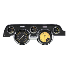 Classic Instruments Classic Instruments 67-68 Ford Mustang Instruments - AutoCross Yellow