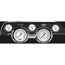 Classic Instruments Classic Instruments 67-68 Ford Mustang Instruments - Classic White