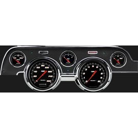 Classic Instruments Classic Instruments 67-68 Ford Mustang Instruments - Velocity Black