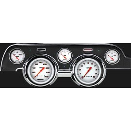 Classic Instruments Classic Instruments 67-68 Ford Mustang Instruments - Velocity White
